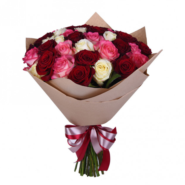 Букет из 35 роз № 3